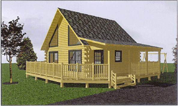 Log Cabin Kit Designs From Merrimac Log Homes