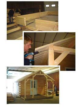 Log Cabin Kits. Click Here Click Here