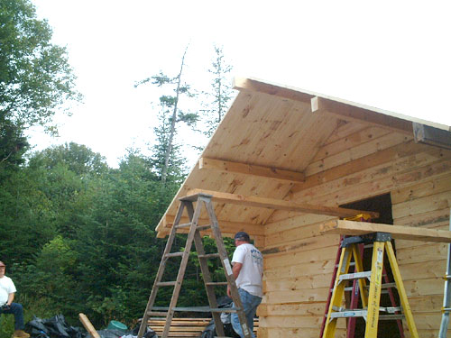 log home kits from maine search
