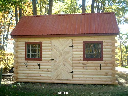 Outdoors backyard sheds on pinterest garden sheds for Jardin 6x6 shed