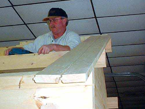 We Use The Same Kind 2x6 Tongue And Groove For The Ceiling/roof That We  Used On The Flooring.
